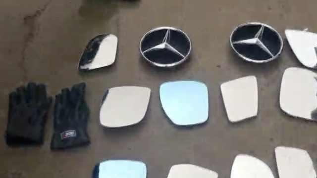 2男子专盗豪车后视镜,留QQ号索财