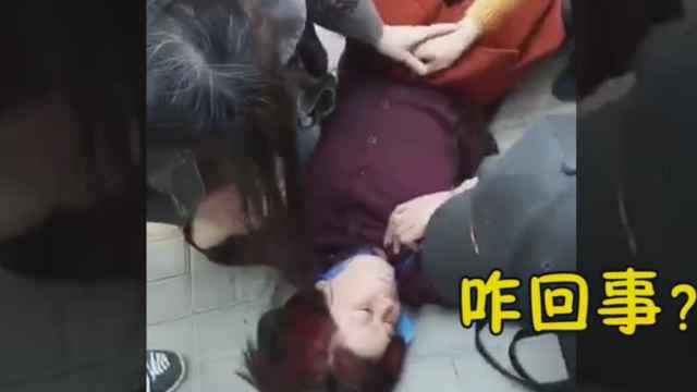 河南退休护士长抢救晕倒女子