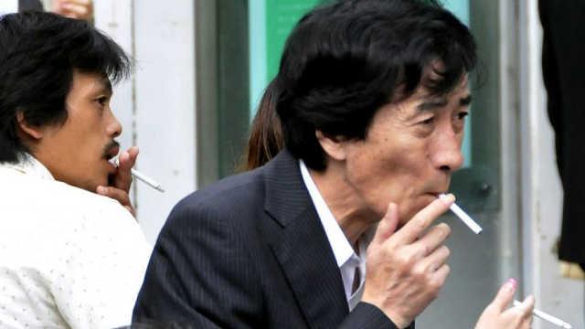 日本人在20年内实现全民戒烟?