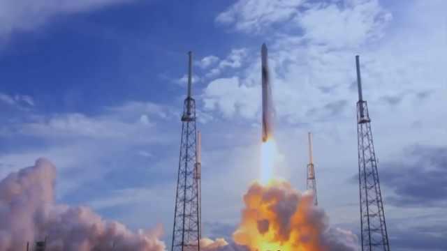 SpaceX再射二手猎鹰9火箭