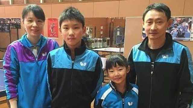 强悍家族!华裔兄妹横扫日本乒乓界