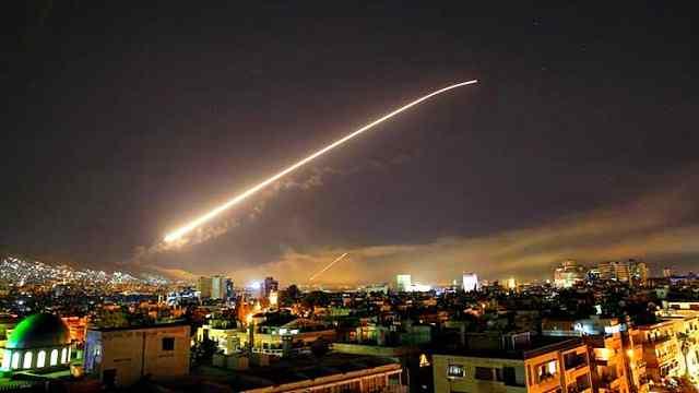 1分半钟全回顾:美英法空袭叙利亚