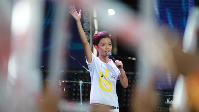 中国乐坛第一跑者:跑遍世界马拉松