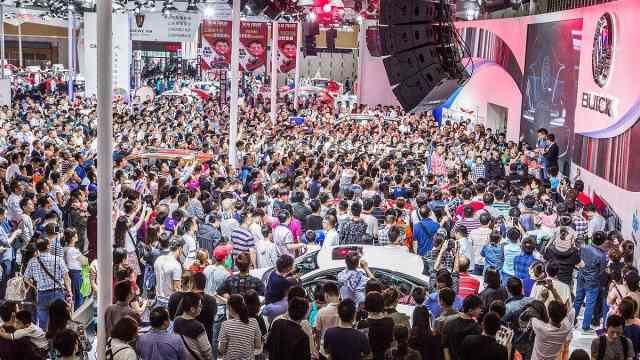 45秒,北京车展大数据在这里!