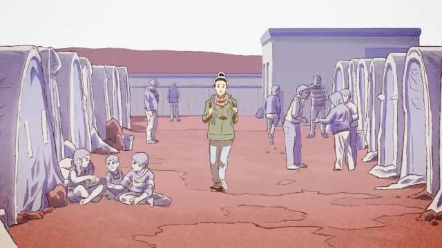 取材自叙利亚难民,这款游戏引争议