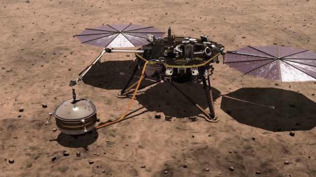 NASA机器人将上火星挖土,叫洞察号