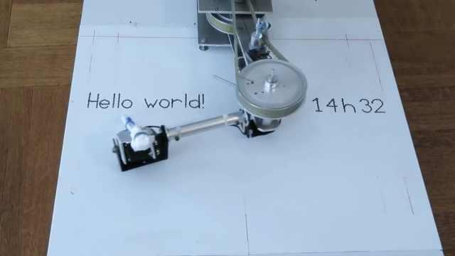 机械臂写得一手好字,还会用橡皮擦