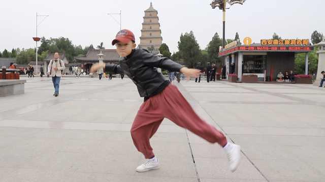 9岁小MJ跳舞成网红,坐拥80万粉丝