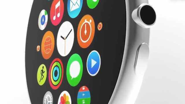 苹果开发圆形显示屏AppleWatch