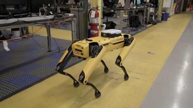 自我导航!波士顿动力机器人新技能