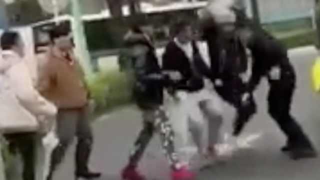 警方:在日斗殴中国人或遣返或罚款