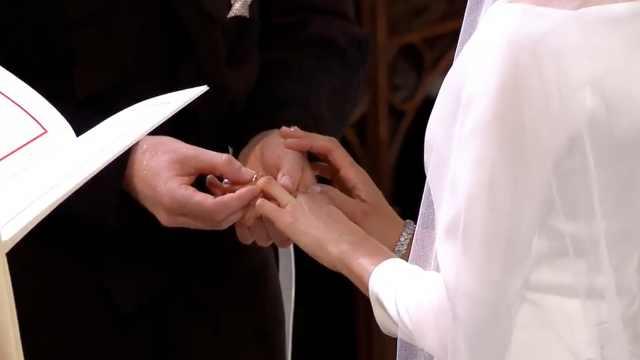 哈里王子与梅根:互换戒指交换誓词