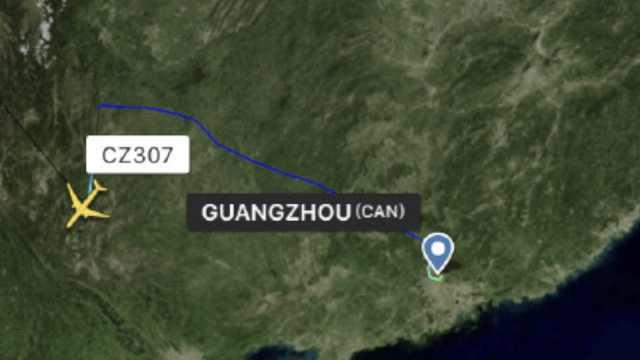 1乘客昏迷,南航飞荷兰航班备降昆明