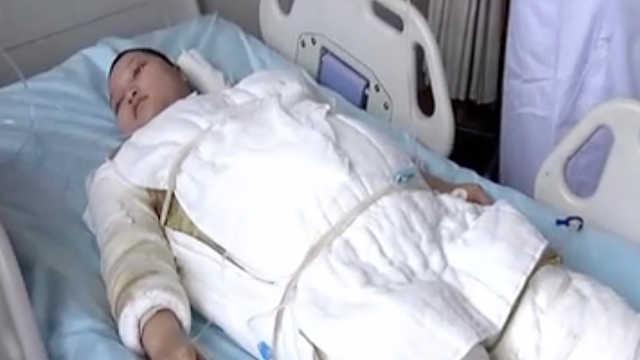 烧伤孕妇坚持产子:为孩子我不能死