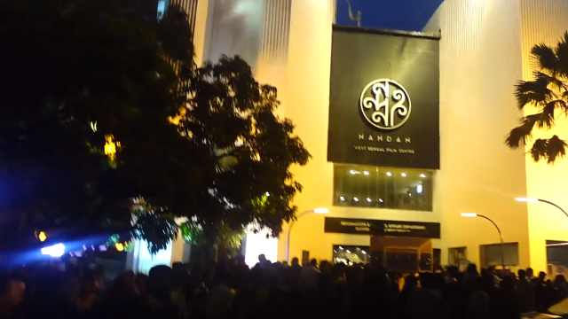 在印度加尔各答,看印度首映电影