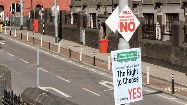 女性有没有堕胎权?爱尔兰全民公投