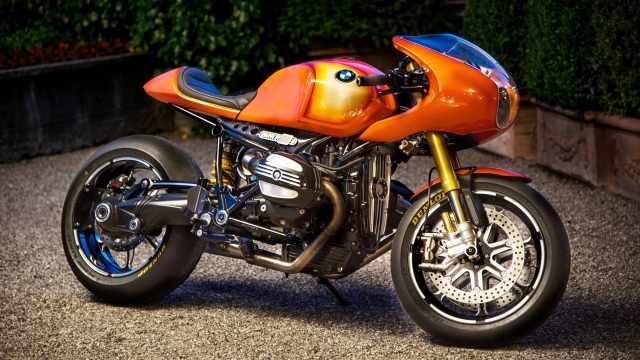 宝马摩托90周年时推出的概念摩托车