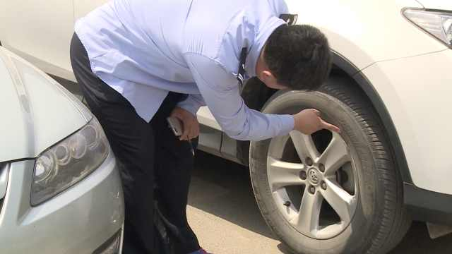 保安遭解雇,为泄愤连扎17业主车胎