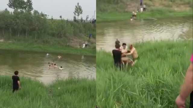 10岁娃下河游泳,滑入河中央溺亡