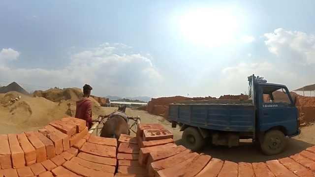 大地震后,尼泊尔砖窑厂迎来改造