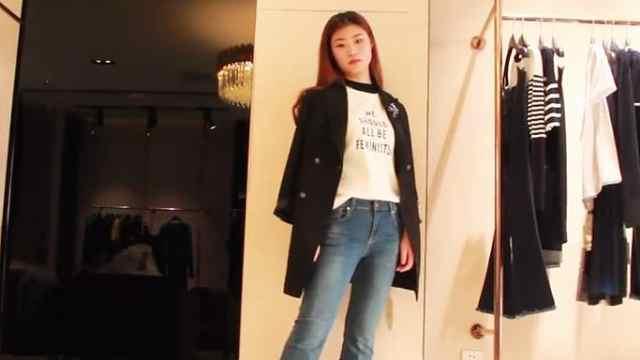 来跟高个子女生学习如何正确穿搭