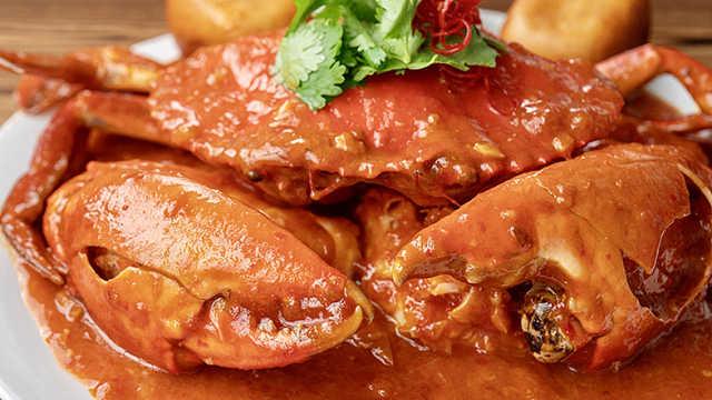 辣椒螃蟹,甜中有辣,辣中带酸