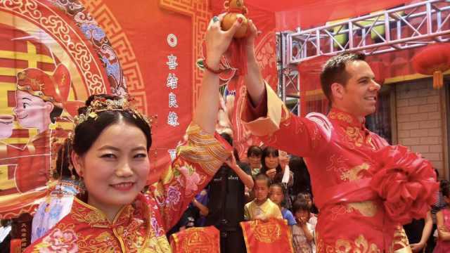 甜!中国姑娘嫁荷兰小伙,称零彩礼
