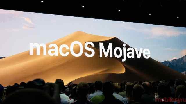 在现场:全新macOS,沙漠暗灰美?