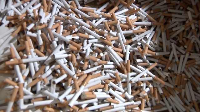 团伙日产假名烟万条,涉案1.4亿被抓