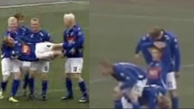 爆笑!冰岛队史上最会庆祝的足球队