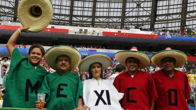 墨西哥城轻微地震!或因庆祝进球