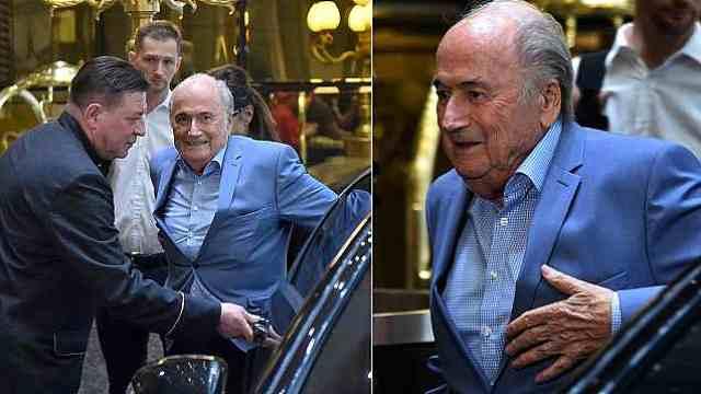应普京之邀,82岁FIFA前掌门人抵俄