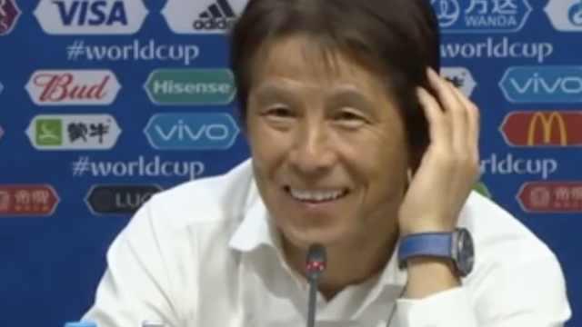 日本主帅:如果夺冠,就全队去游行