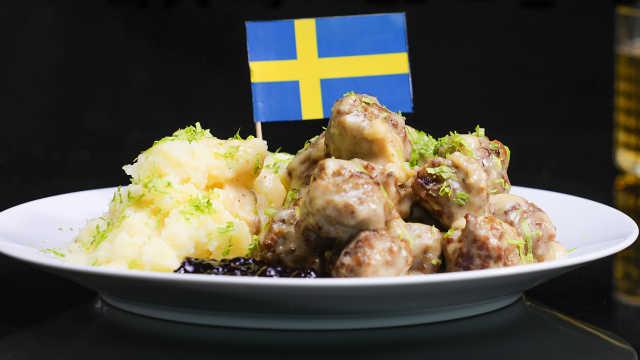 真正高级的瑞典肉丸,原来是这样的