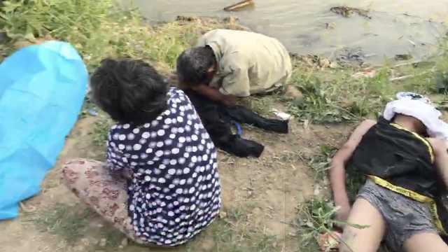 悲剧!水沟暗藏深坑,2少年游泳溺亡
