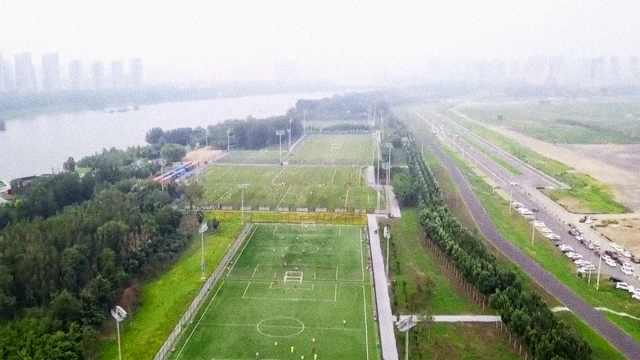这公园无敌!有40片足球场,占86公顷