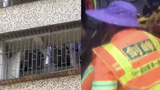 三楼住户扔玻璃瓶,砸中女环卫工