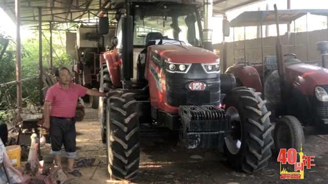 农机手的40年:报酬从百元涨到3千元