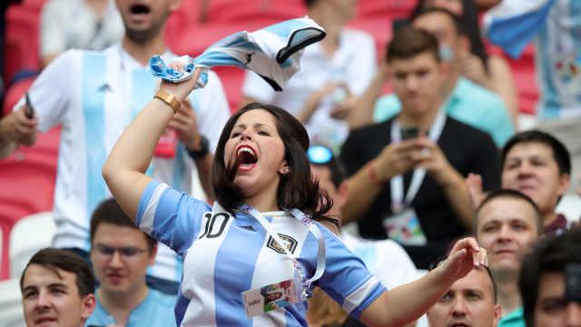 主场作战!三万阿根廷球迷碾压法国