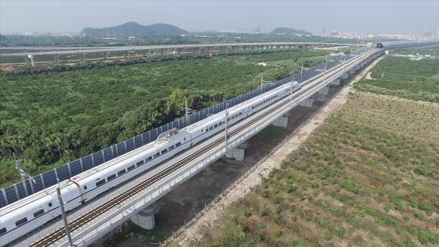 江湛铁路通车,粤西不通高铁史结束