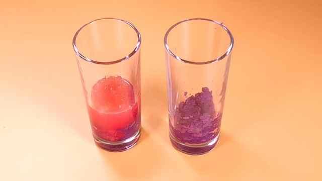 厉害了~边吃紫薯边做实验
