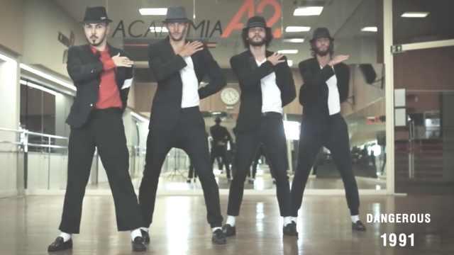 赏心悦目!巴西帅哥重现MJ经典舞步