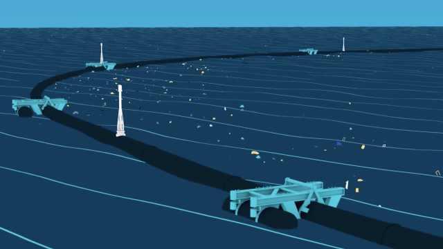 小动画科普:海洋垃圾清理项目原理