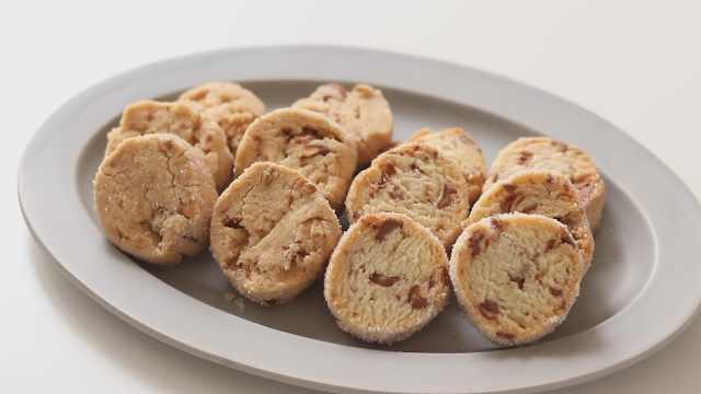 自制简易美味的无黄油饼干