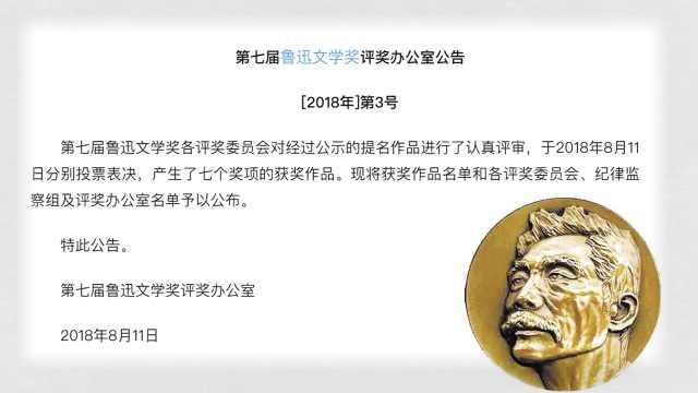 鲁迅文学奖公布!连线获奖作家小白