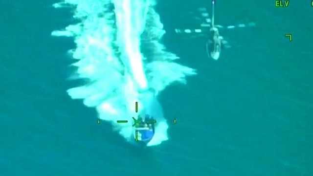 警匪大片:墨西哥海軍截獲大量毒品