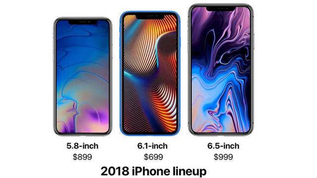三款新iPhone价格曝光