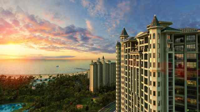 中国房产发展最快的城市!