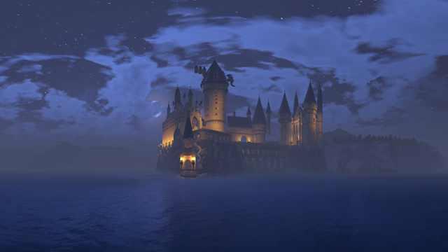 乐高版哈利波特霍格沃茨城堡,像吗?