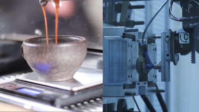 环保新方法,把咖啡渣制成咖啡杯